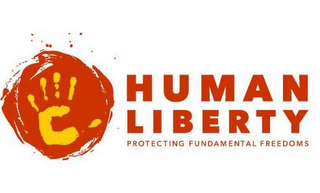 mark for HUMAN LIBERTY PROTECTING FUNDAMENTAL FREEDOMS, trademark #85872193
