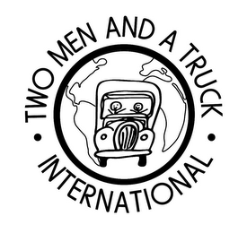 mark for TWO MEN AND A TRUCK INTERNATIONAL, trademark #85872252