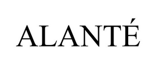 mark for ALANTÉ, trademark #85872587