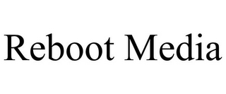mark for REBOOT MEDIA, trademark #85872638