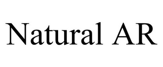 mark for NATURAL AR, trademark #85872964
