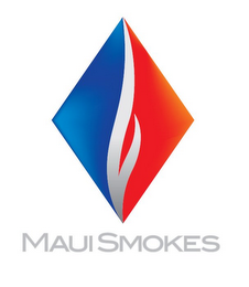 mark for MAUI SMOKES, trademark #85873060