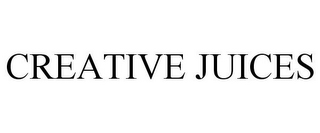 mark for CREATIVE JUICES, trademark #85873178