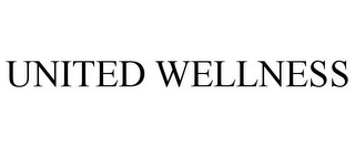mark for UNITED WELLNESS, trademark #85873194