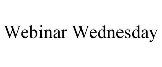 mark for WEBINAR WEDNESDAY, trademark #85873206