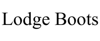 mark for LODGE BOOTS, trademark #85873225