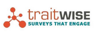 mark for TRAITWISE SURVEYS THAT ENGAGE, trademark #85873259