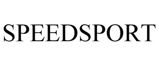 mark for SPEEDSPORT, trademark #85873337