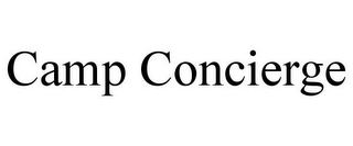 mark for CAMP CONCIERGE, trademark #85873597
