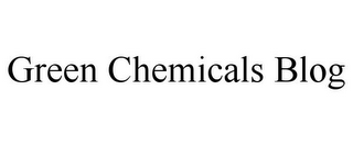 mark for GREEN CHEMICALS BLOG, trademark #85873666