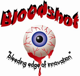 mark for BLOODSHOT BLEEDING EDGE OF INNOVATION, trademark #85873925