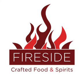 mark for FIRESIDE CRAFTED FOOD & SPIRITS, trademark #85874357