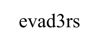 mark for EVAD3RS, trademark #85874460