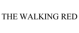 mark for THE WALKING RED, trademark #85875604