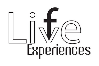mark for F LIVE EXPERIENCES, trademark #85875617