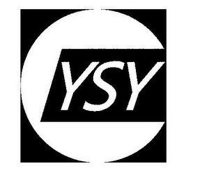 mark for YSY, trademark #85875762