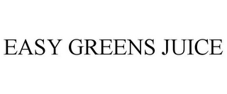 mark for EASY GREENS JUICE, trademark #85875884