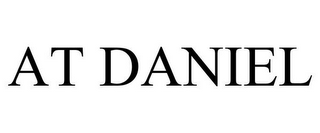 mark for AT DANIEL, trademark #85876036