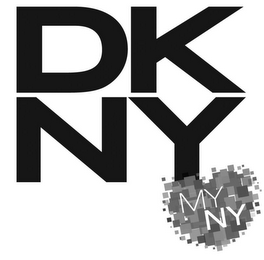 mark for DKNY MYNY, trademark #85876146