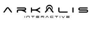 mark for ARKALIS INTERACTIVE, trademark #85876159