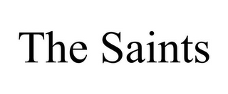mark for THE SAINTS, trademark #85876193