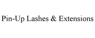 mark for PIN-UP LASHES & EXTENSIONS, trademark #85876433