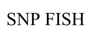 mark for SNP FISH, trademark #85876460