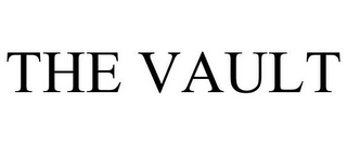 mark for THE VAULT, trademark #85877238