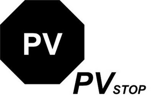 mark for PV PV STOP, trademark #85877305