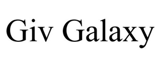 mark for GIV GALAXY, trademark #85877514