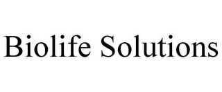 mark for BIOLIFE SOLUTIONS, trademark #85877535