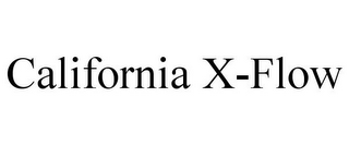 mark for CALIFORNIA X-FLOW, trademark #85877691