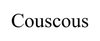 mark for COUSCOUS, trademark #85877799