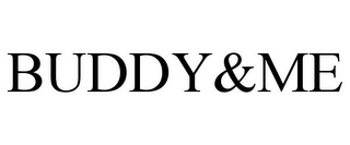 mark for BUDDY&ME, trademark #85877818