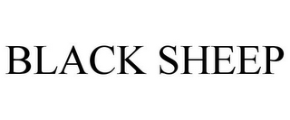 mark for BLACK SHEEP, trademark #85877924