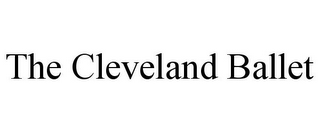 mark for THE CLEVELAND BALLET, trademark #85878066
