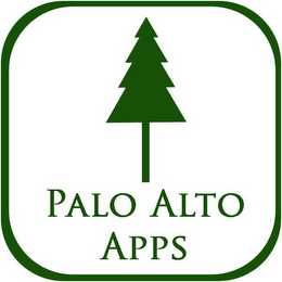 mark for PALO ALTO APPS, trademark #85878077