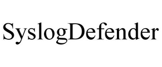 mark for SYSLOGDEFENDER, trademark #85878296