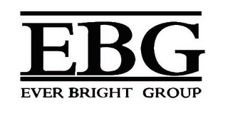 mark for EBG EVER BRIGHT GROUP, trademark #85878360