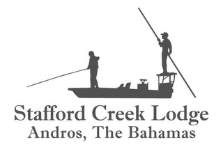 mark for STAFFORD CREEK LODGE ANDROS, THE BAHAMAS, trademark #85878411