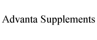 mark for ADVANTA SUPPLEMENTS, trademark #85878595