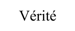 mark for VÉRITÉ, trademark #85879276