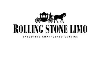 mark for ROLLING STONE LIMO EXECUTIVE CHAFFUERED SERVICE, trademark #85879297