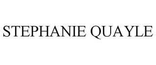 mark for STEPHANIE QUAYLE, trademark #85879474
