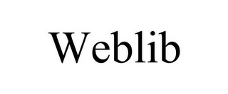 mark for WEBLIB, trademark #85879548