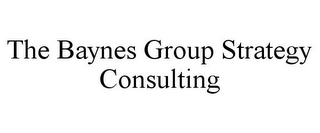 mark for THE BAYNES GROUP STRATEGY CONSULTING, trademark #85879629