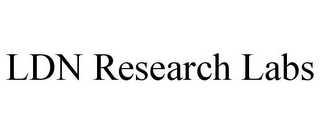 mark for LDN RESEARCH LABS, trademark #85879716
