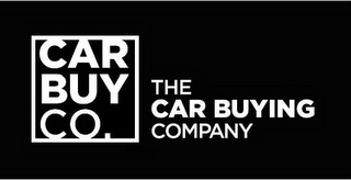 mark for CAR BUY CO. THE CAR BUYING COMPANY, trademark #85879766