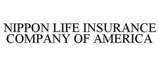 mark for NIPPON LIFE INSURANCE COMPANY OF AMERICA, trademark #85879982