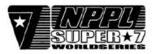 mark for NPPL SUPER 7 WORLDSERIES, trademark #85880196